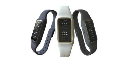 the dot, braille smartwatch, technology for blind people, smartwatch for blind people, technology for vision-impaired, wearable technology