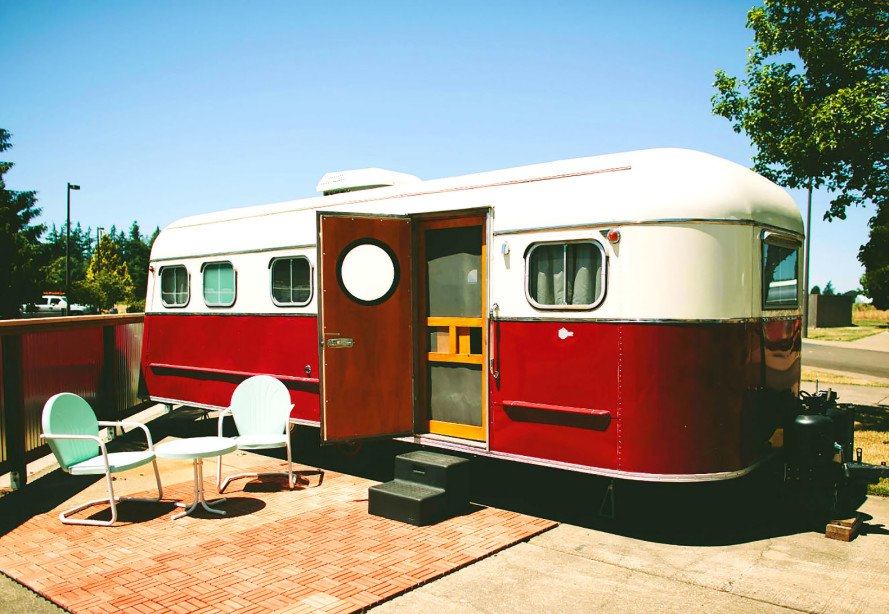 The Vintages boasts 15 painstakingly restored trailers in