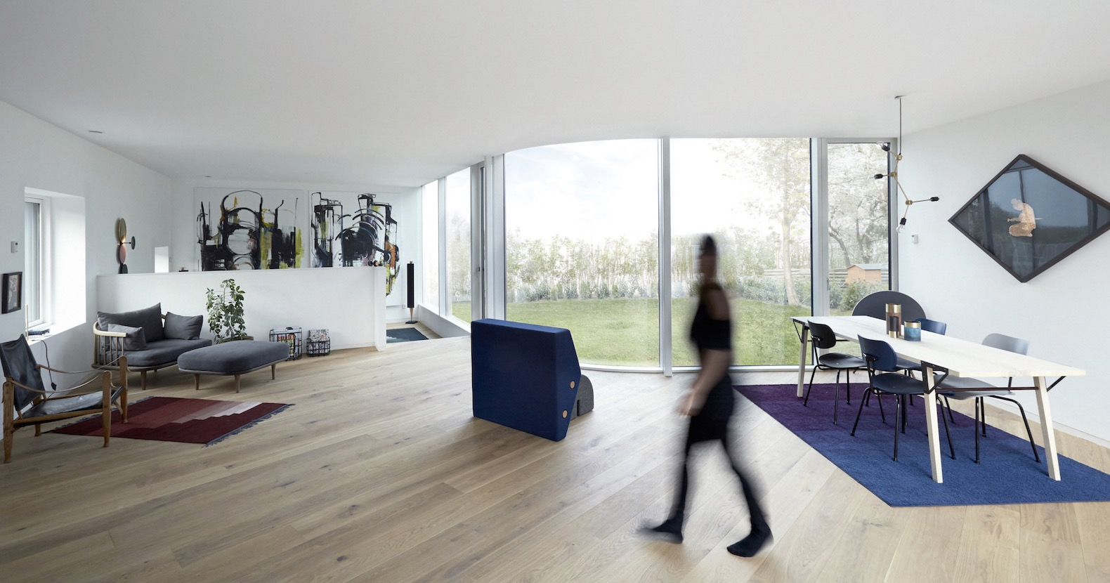 Villa One is an affordable prefab home that accommodates a growing family
