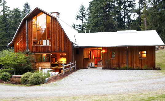 green renovation, barn conversions, green design, sustainable design, eco-design, barn conversion, barn renovation, Whidbey Island, Washington State, Shed Architecture & Design
