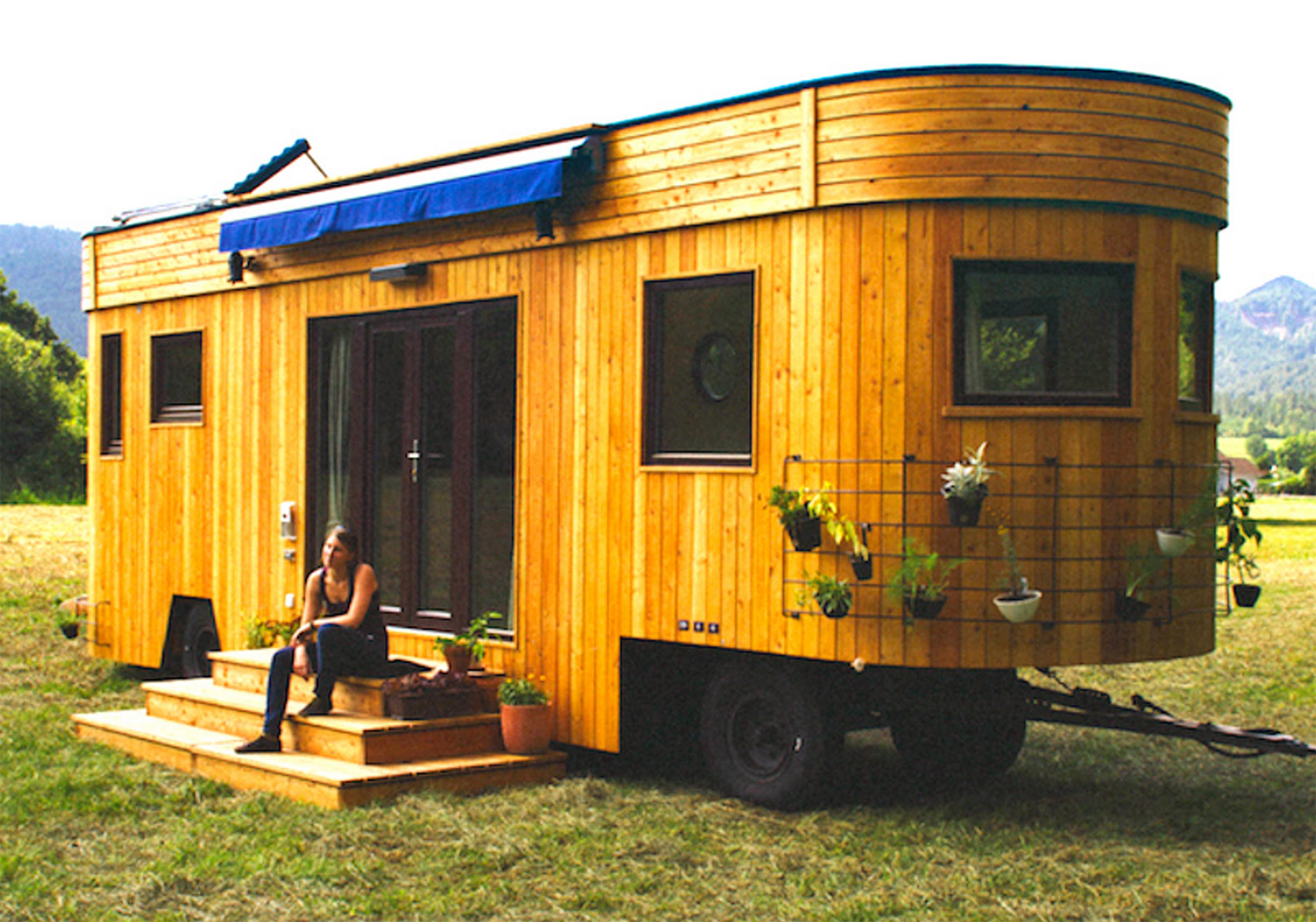 Good Live Off The Grid And Rent Free In The Charming Wohnwagon Mobile Caravan