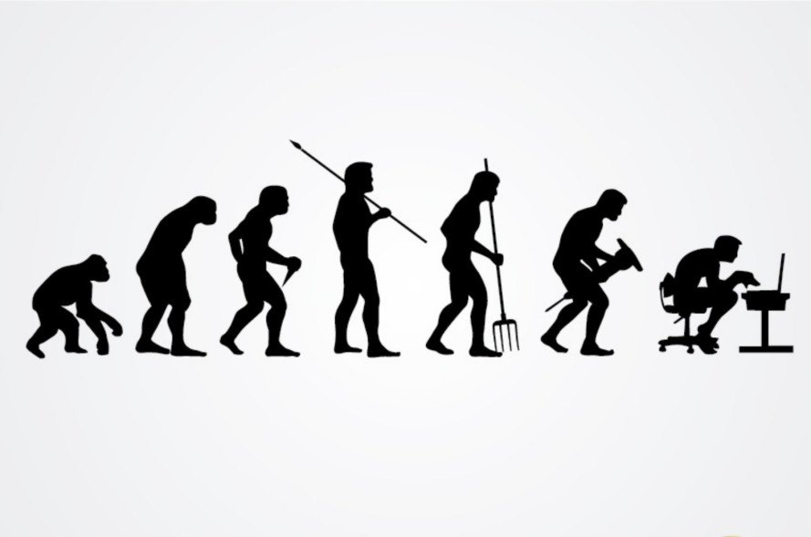 The first humans were smaller and
