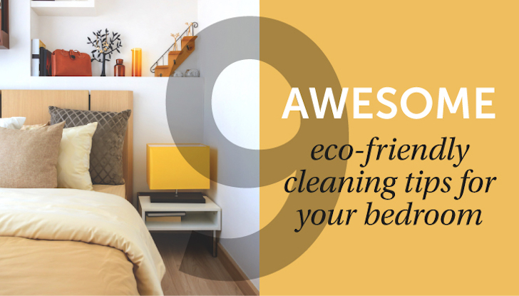INFOGRAPHIC: 9 eco-friendly cleaning tips for keeping your home spotless