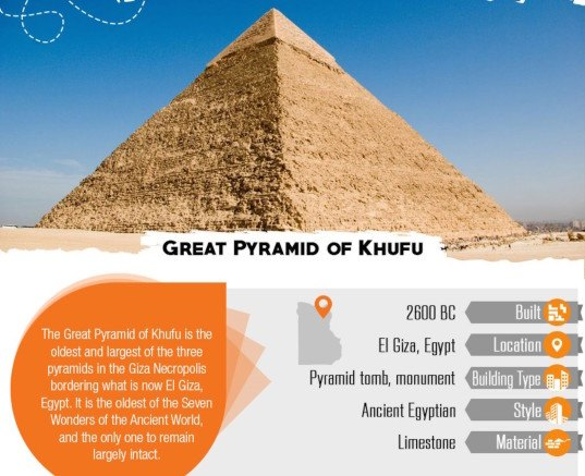 Pennywell, infographic, reader submitted content, Burj Khalifa, Great wall, Newgrange, greatest buildings of world history, angkor wat