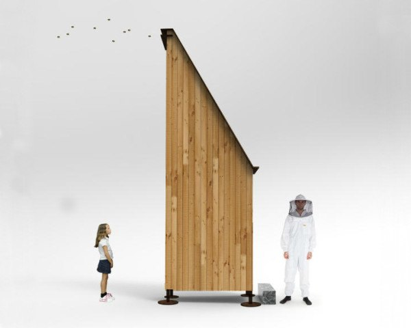 Francesco Faccin, urban beekeeping, honey factory, beehives, milan expo 2015
