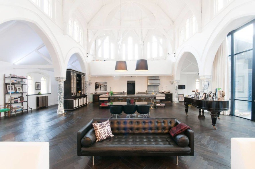 Architecture A massive London church is transformed