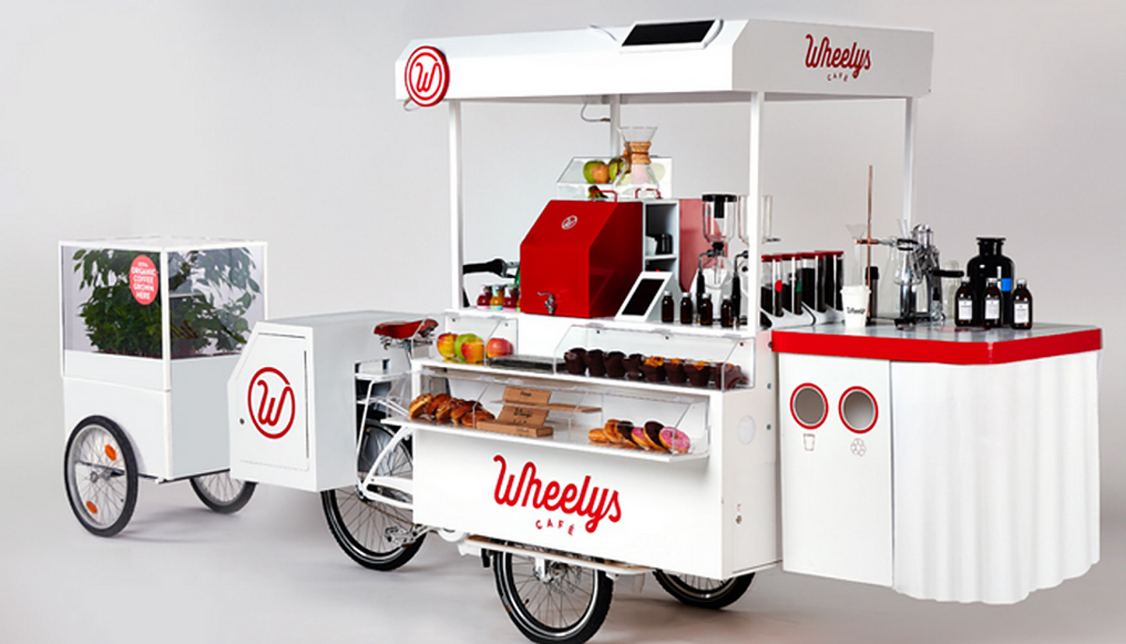 Wheelys 3 Is A Tiny Solar Powered Coffee Shop On Wheels With Mini Greenhouse Attached