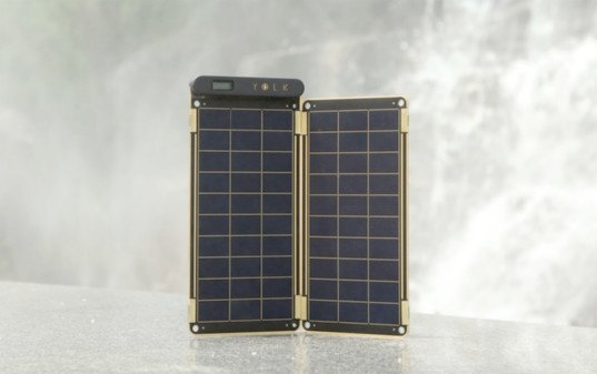 solar paper, yolk solar, solar powered phone charger, solar charger, solar powered laptop charger, solar powered tablet charger, solar smartphone charger, outdoor solar charger, lightweight solar charger, solar power
