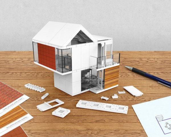 Shipping Container Homes Models Interior Design Model Kit