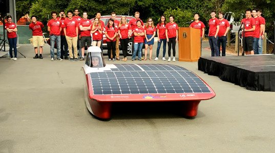 Arctan solar car Stanford