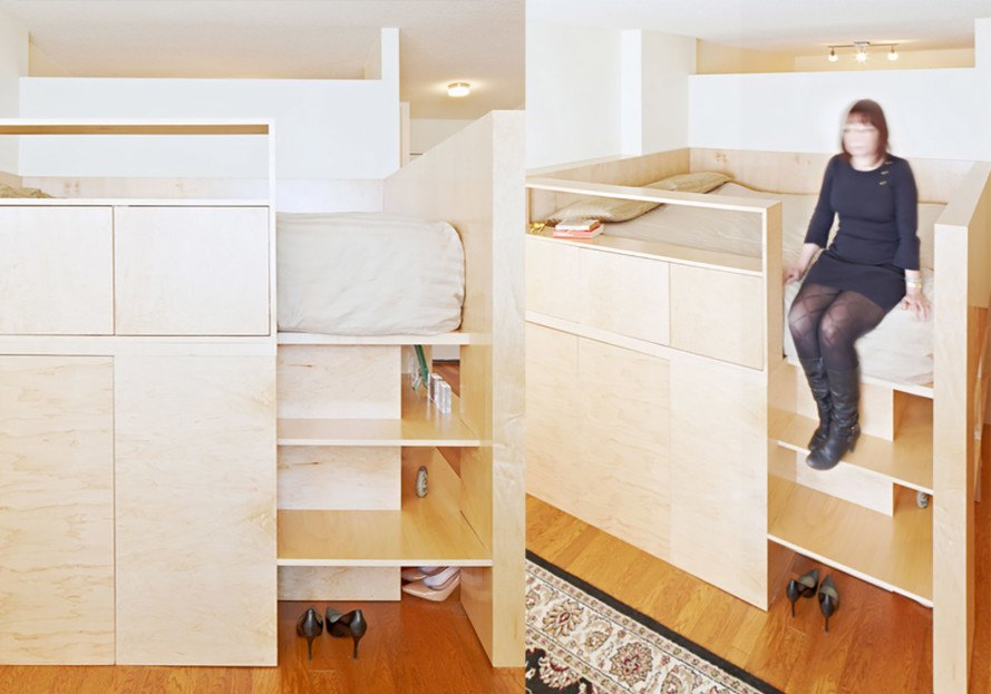 Architecture & JPDA\u0027s smart furniture piece solves the age-old studio apartment ...