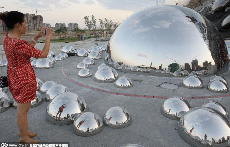 China Reveals Tacky Knockoff Of Chicago S Famous Bean