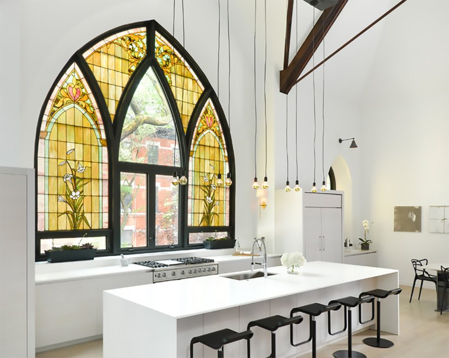 Majestic church is transformed into a gorgeous modern family home in ...
