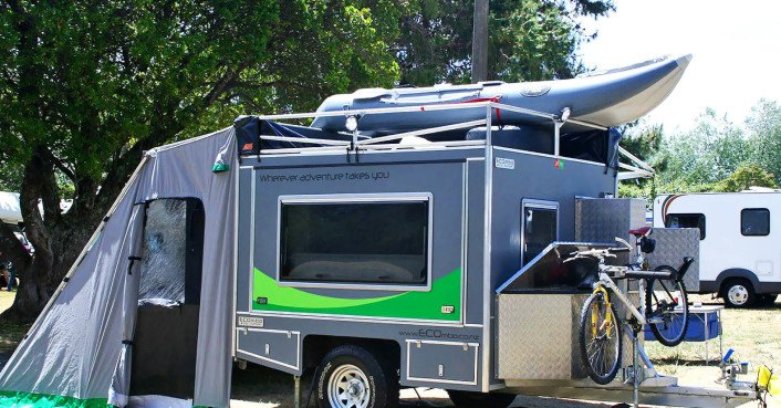 Sweet ecombo camper offers 95 square feet of exhilarating for Rv square footage