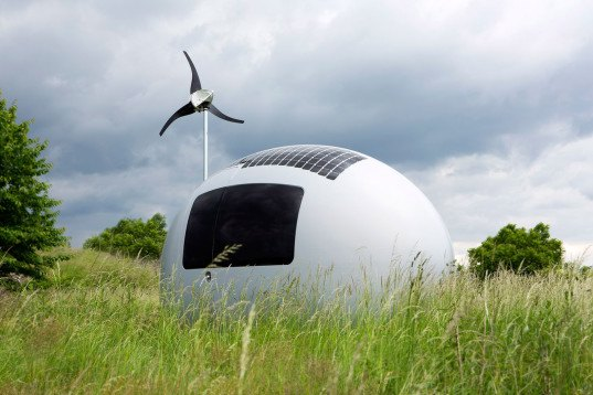 Ecocapsule, Ecocapsule by Nice Architects, Nice architects, egg-shaped house, egg-shaped architecture, portable house, tiny house, micro shelter, off grid house, off grid architecture, rainwater collection, solar power, wind power, tiny home, tiny mobile home, portable home