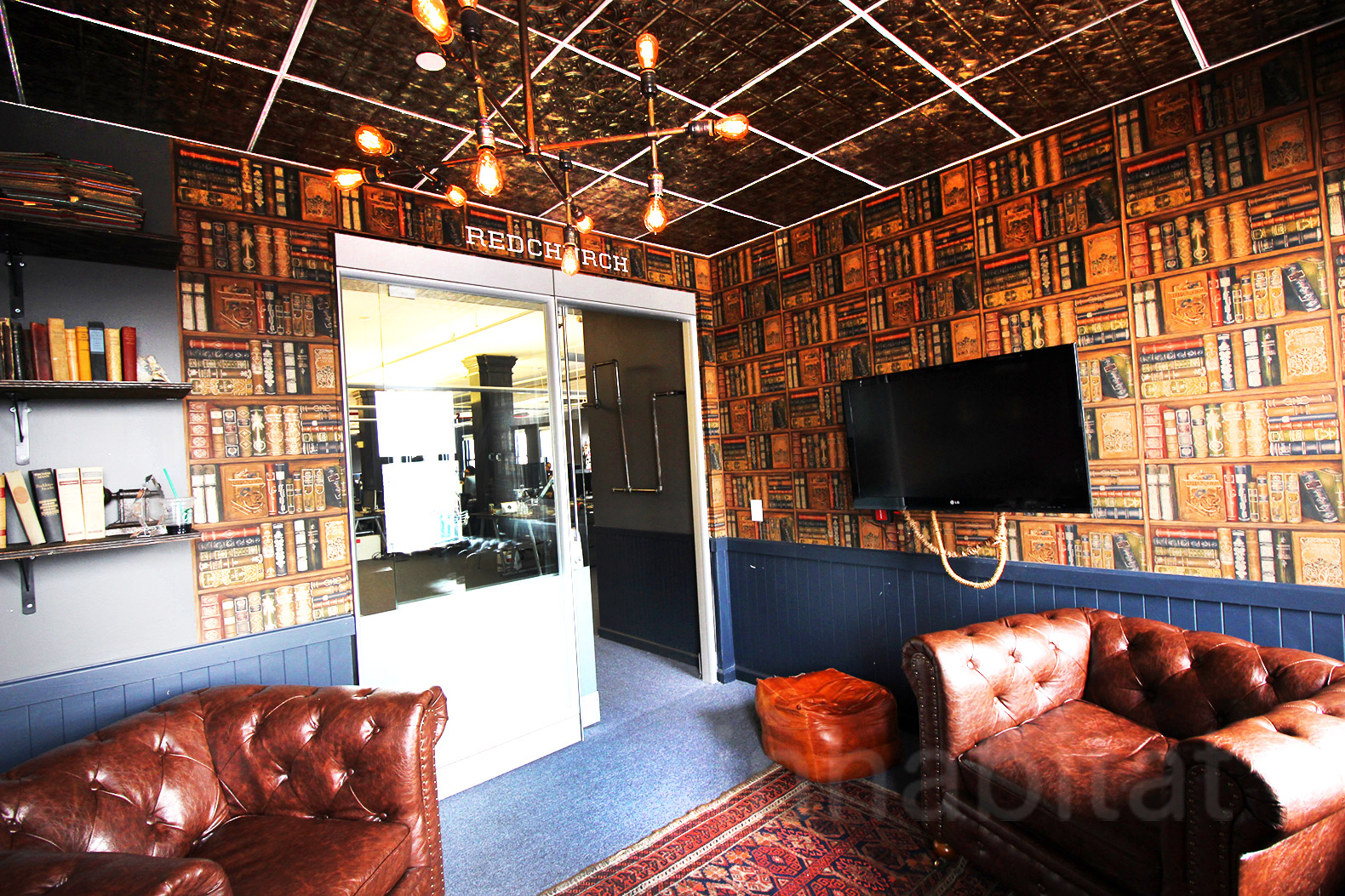 SoHo Co Working Space Fuels Startups With Quirky Vintage Touches And  Year Round Ice Cream