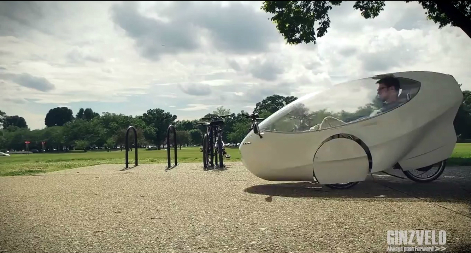1 2 3 4 ginzvelo ginzvelo human electric hybrid recumbent tricycle