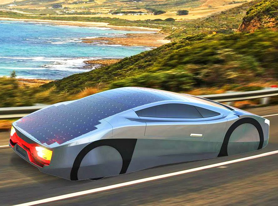 The Immortus Electric Sports Car Can Drive All Day Using Just Of Sun