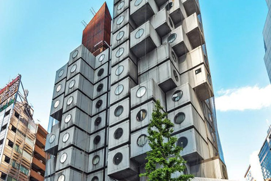 Now you can rent a room in Japan's Nakagin Capsule Tower via Airbnb