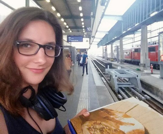 leonie Müller, wherever you go there you are, travel blog, living on a train, train nomad, minimalist living