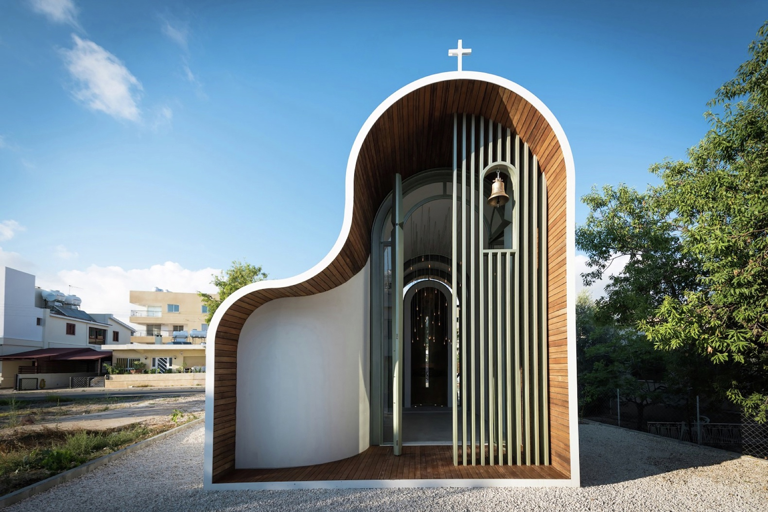 Beau Michail Georgiou Reimagines Orthodox Tradition For His Tiny Chapel In Cyprus