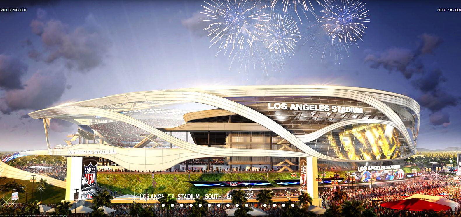 New Chargers And Raiders Stadium Design Features A Farmers Market Electric Car Charging Stations