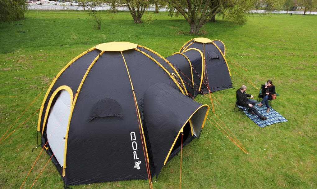 Modular Pod Tents Connect To Create Multi Room Camping