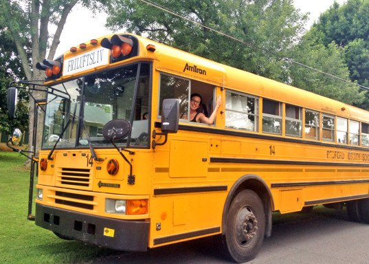 tiny house school bus. Mobile Homes, Converted Bus, Renovated Bus Home, Tiny House School G