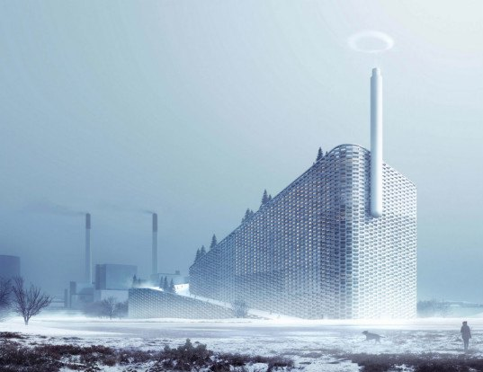 bjarke ingels group, big, steam ring generator, world's cleanest power plant, trash to energy, copenhagen big, green power, carbon emissions, climate change
