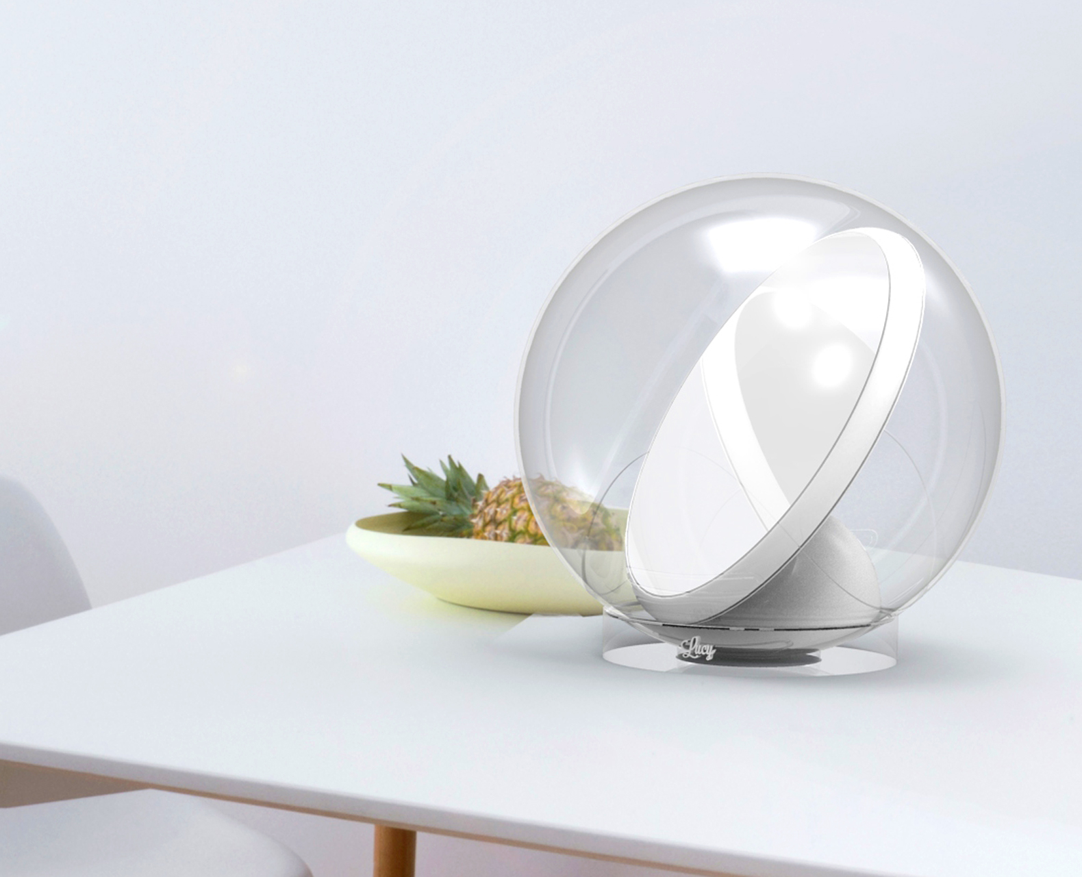 Lucy is a robotic sunlight reflector that brings light into every dark corner of your house
