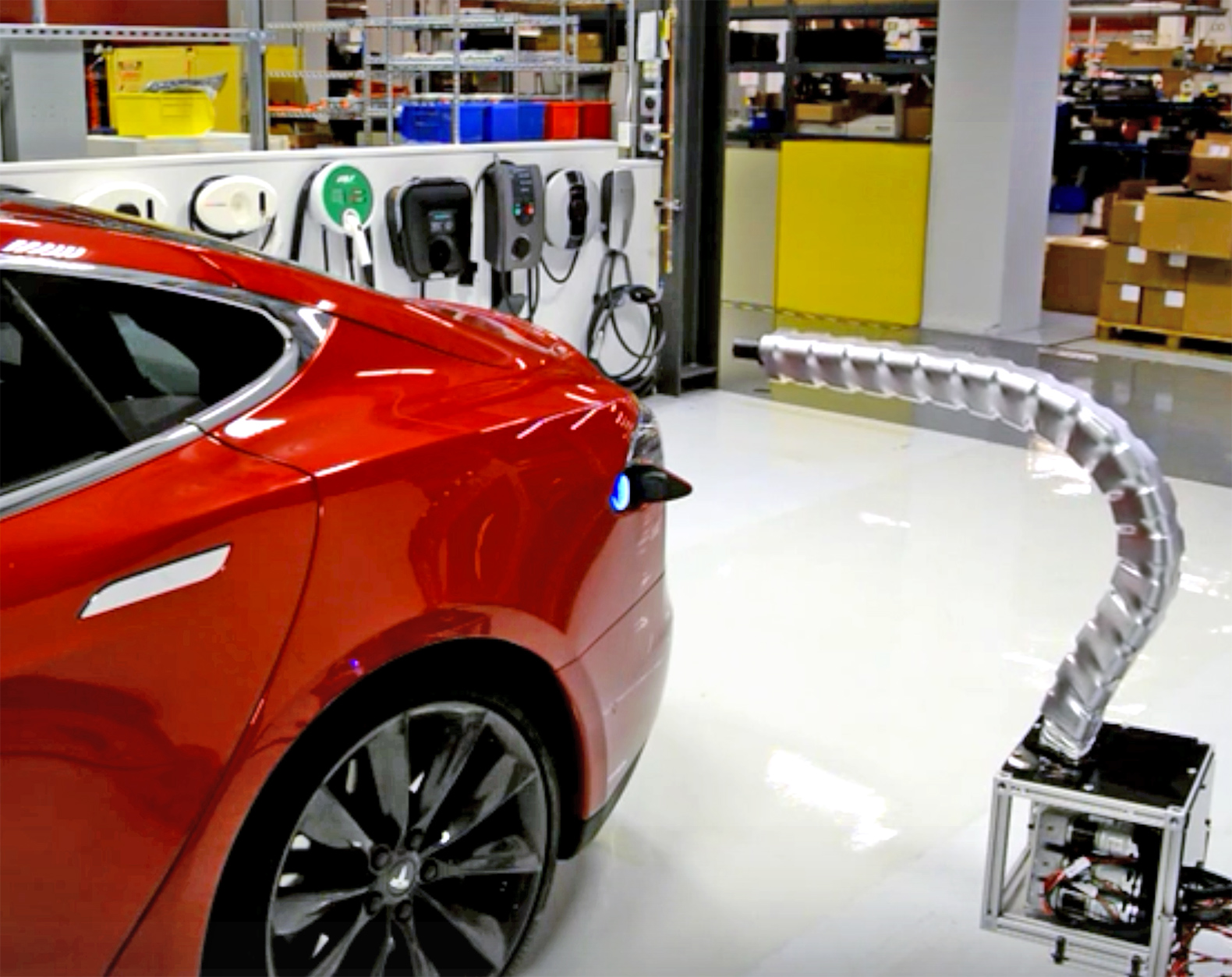 Tesla Electric Car Inhabitat Green Design Innovation