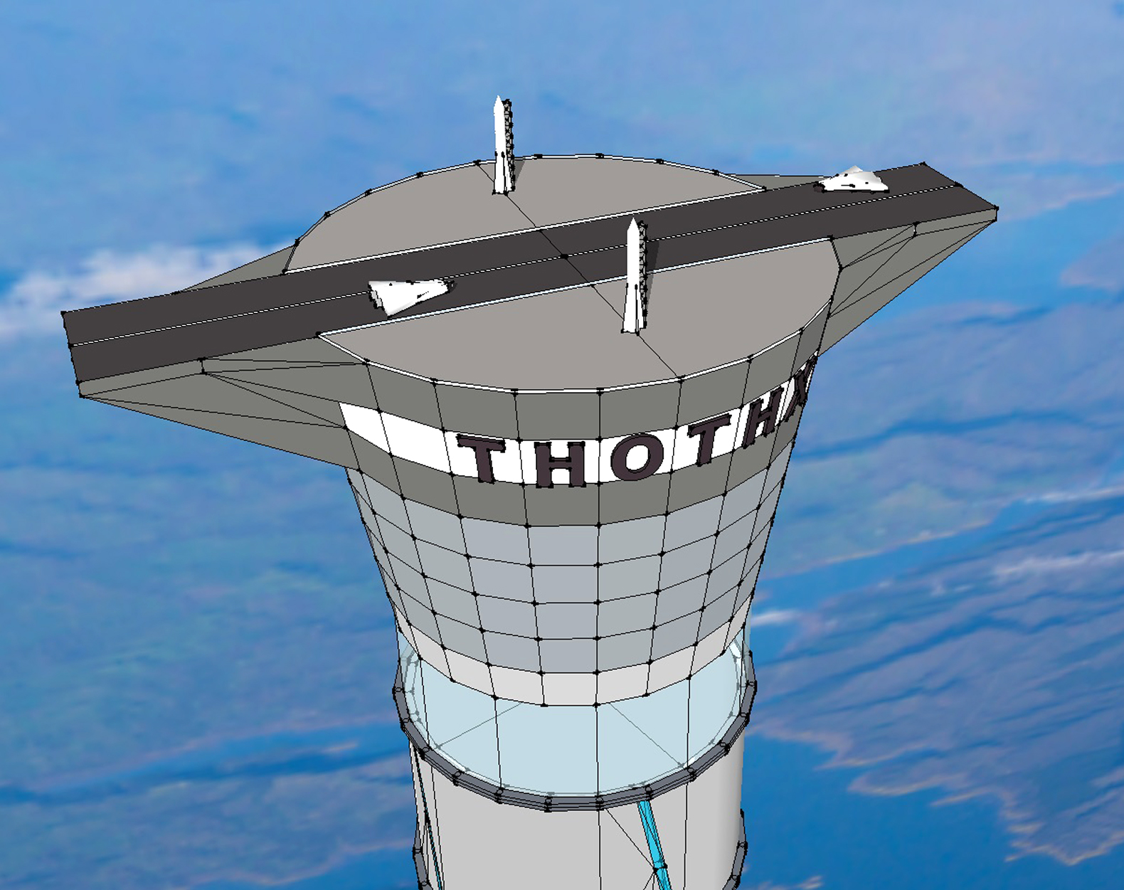 Thoth Technology patents 12-mile-high inflatable space elevator
