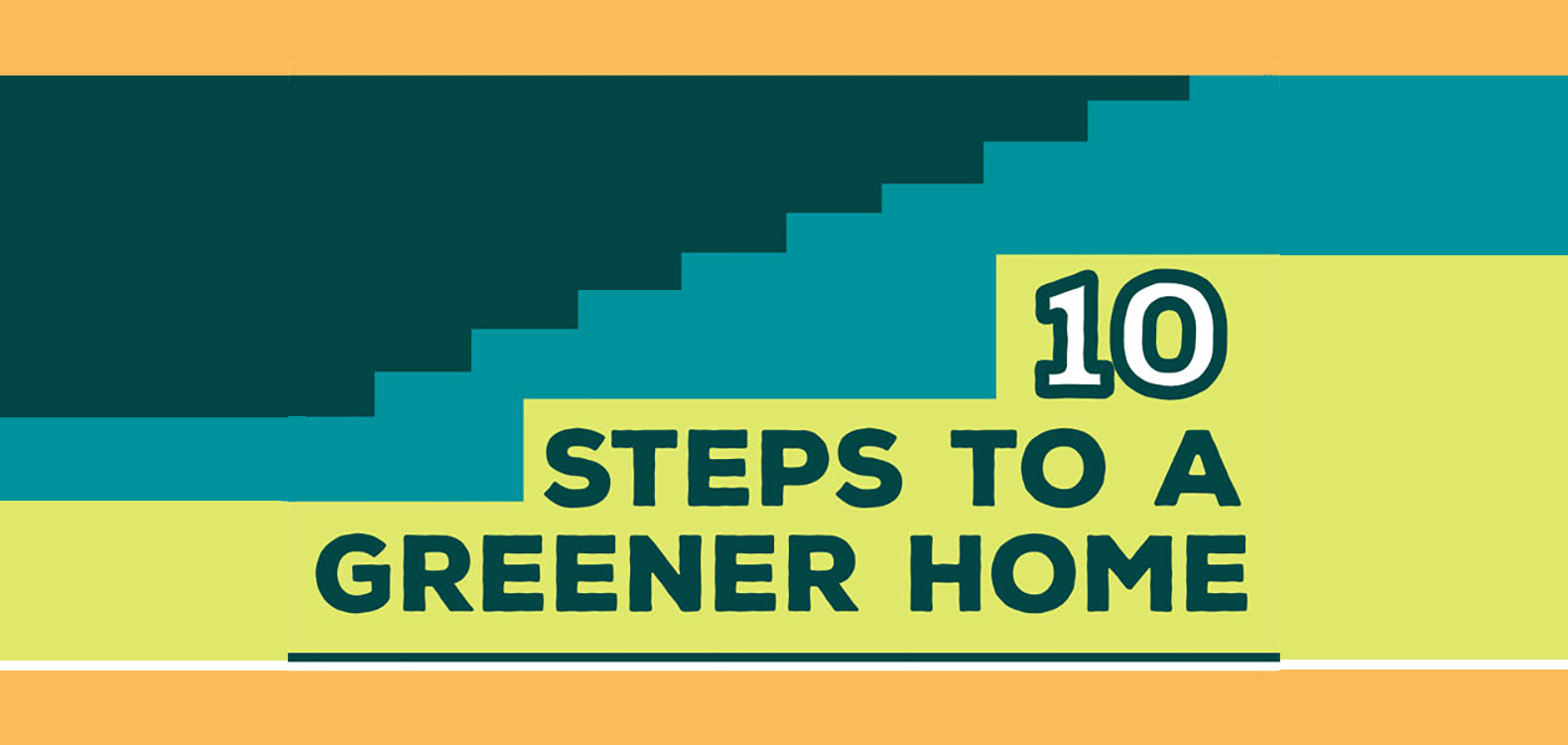 Infographic 10 Ways To Make Your Home More Green Ces