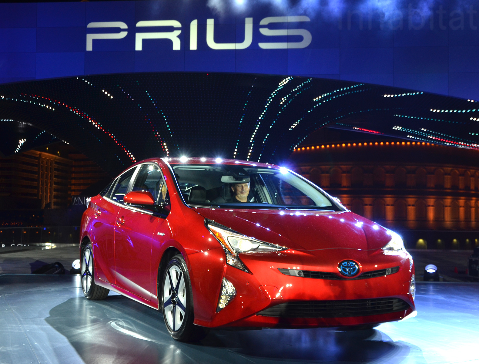 The all new 2016 toyota prius is sportier leaner and gets 10 better gas mileage