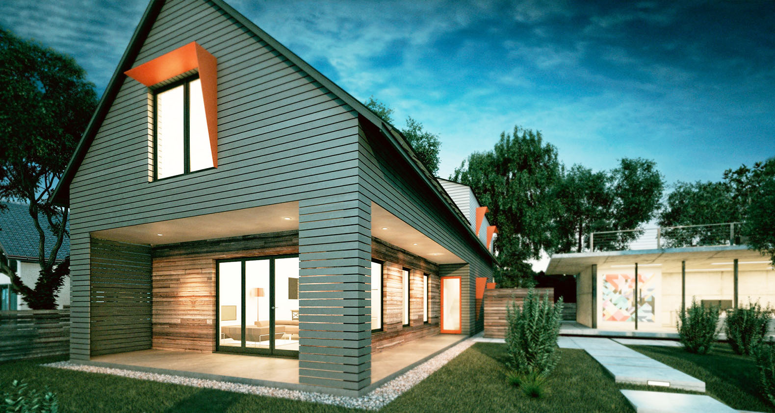 Net zero house inhabitat green design innovation for Zero house plans