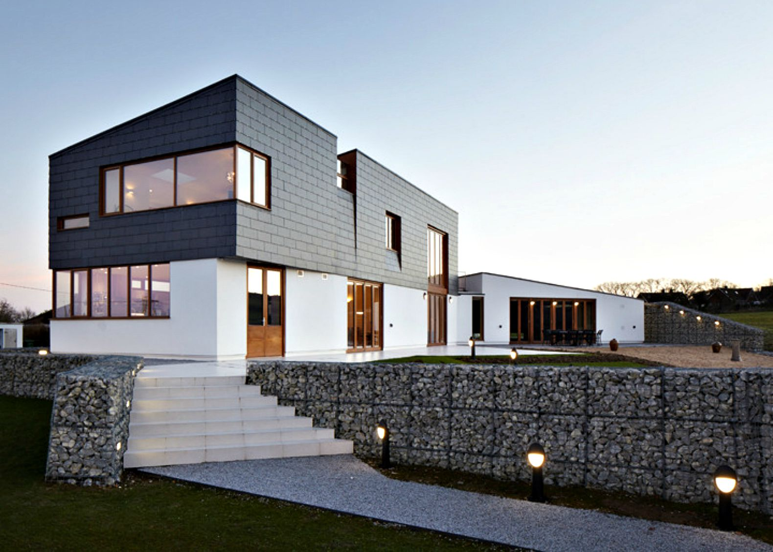 Alma-nac's sustainable Split House adapts to the aging owners' future care needs