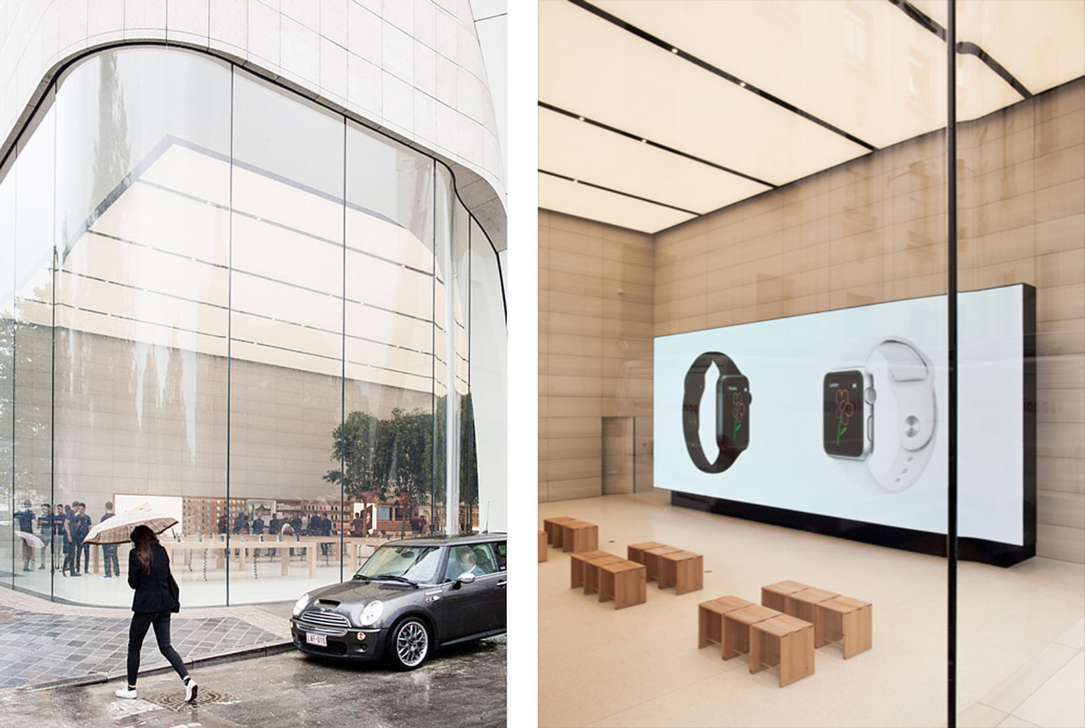 Apple unveils first store built under jonathan ives for Documents apple store