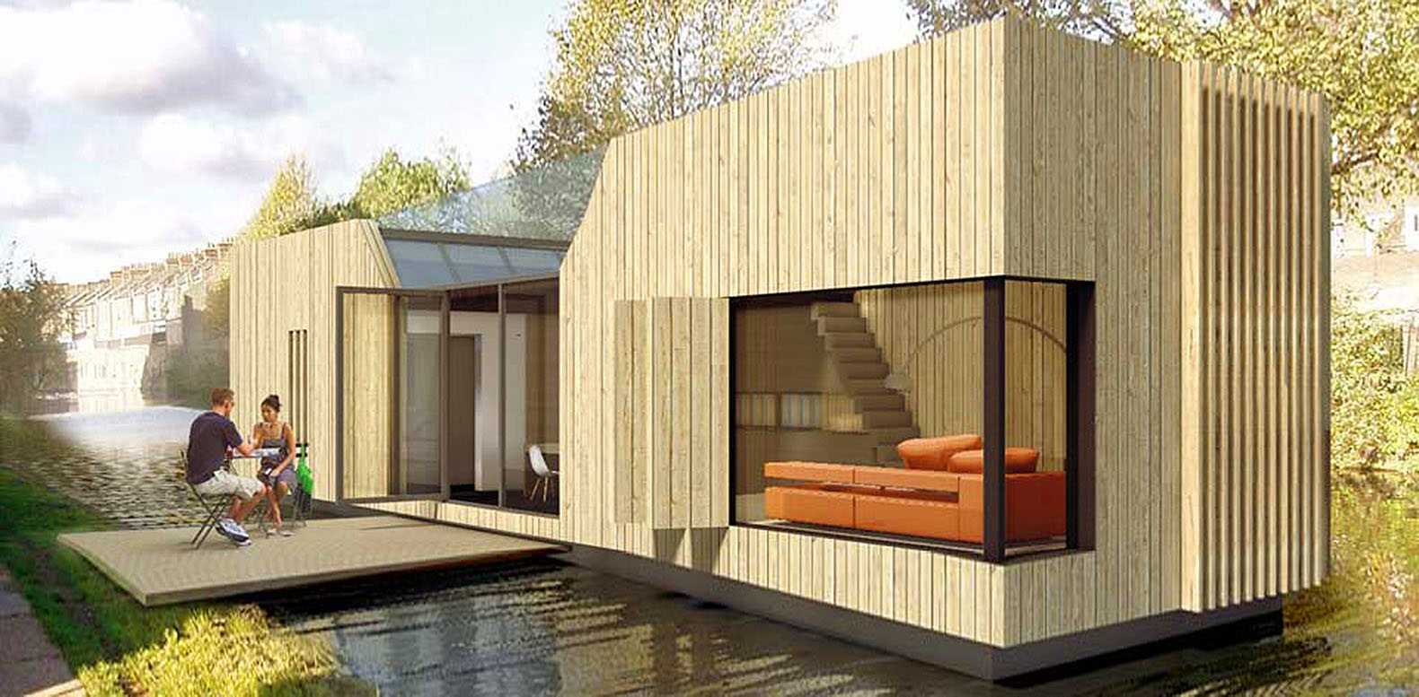 7,500 Affordable Floating Homes Could Help Fight Londonu0027s Crippling Housing  Crisis