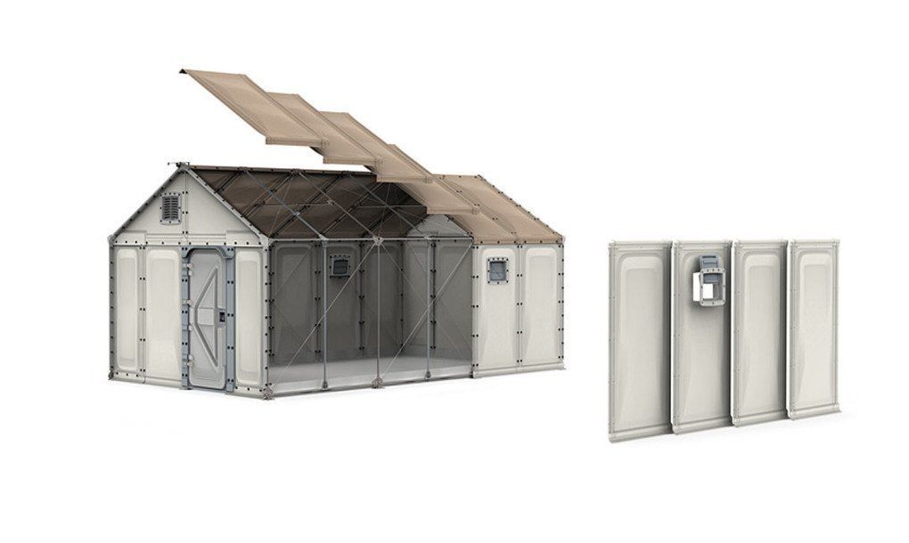 Ikea S Modular Better Shelter Housing Unit Is A Solar