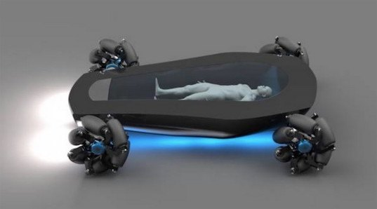 Charles Bombardier, self-driving cars, hearse, electric hearse, self-driving hearse, electric vehicle, fuel-cell vehicle, green car, green transportation, hydrogen