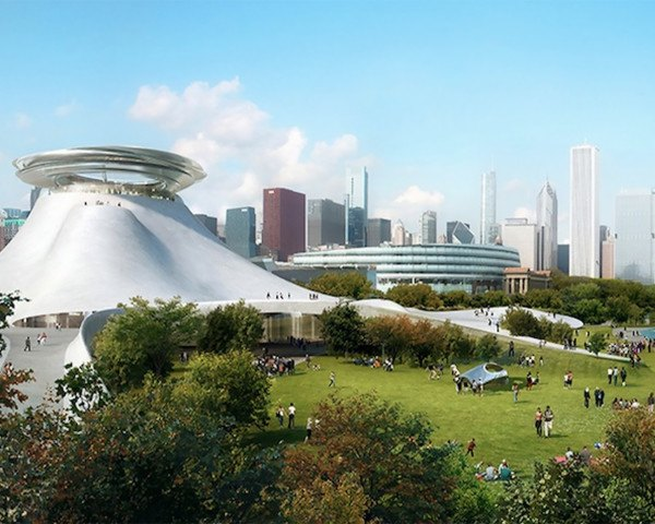 MAD Architects, George Lucas Museum, Studio Gang, SCAPE, Chicago museum, green design, urban design, lakefront design, Lake Michigan, Frank Gehry, George Lucas Museum of Narrative Art, Lucas Museum Chicago