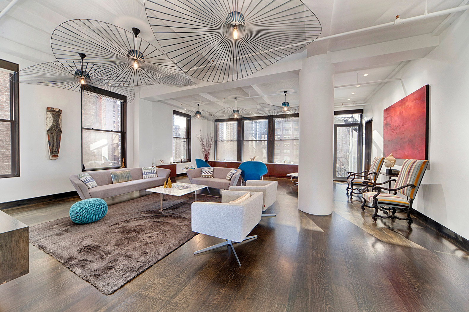 Marvelous 9 Canu0027t Miss Archtober Events To Check Out This October In NYC DWELL  Manhattan Home Tour Living Room U2013 Inhabitat   Green Design, Innovation,  Architecture, ...