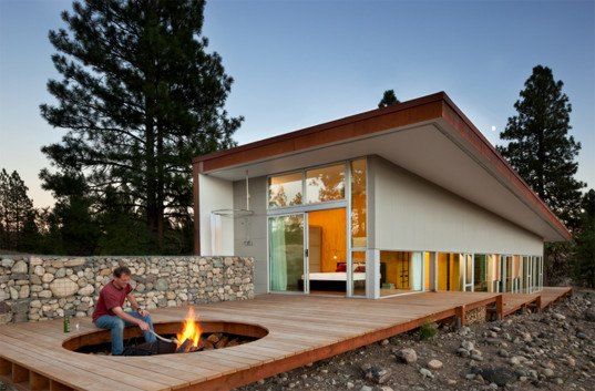 low flow, recycled materials, passive solar heat, David Coleman, David Coleman architecture, David Coleman Hill House, Hill House, green housing, green building, green architecture, green living, sustainable architecture, sustainable design, sustainable homes,