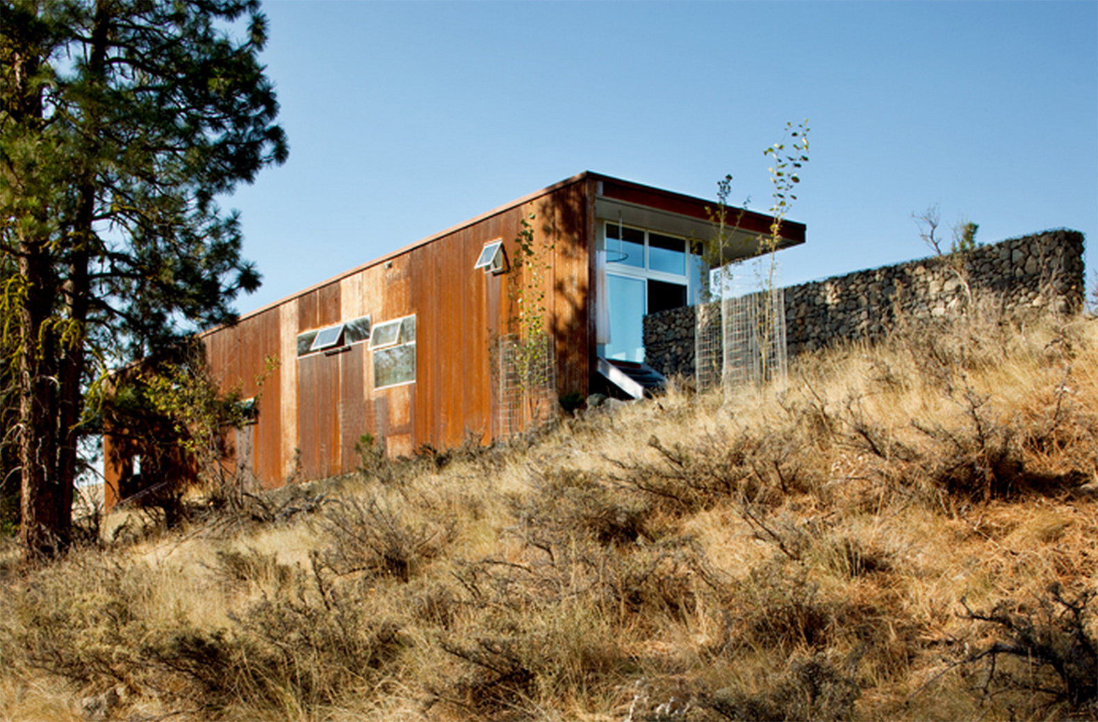 House design hilly area - The Hill House By David Coleman Is A Sustainable Modest Escape With A Big Presence