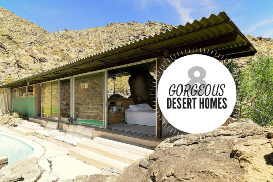 8 gorgeous eco friendly homes designed for the desert ecotech in the mojave desert inhabitat. Black Bedroom Furniture Sets. Home Design Ideas