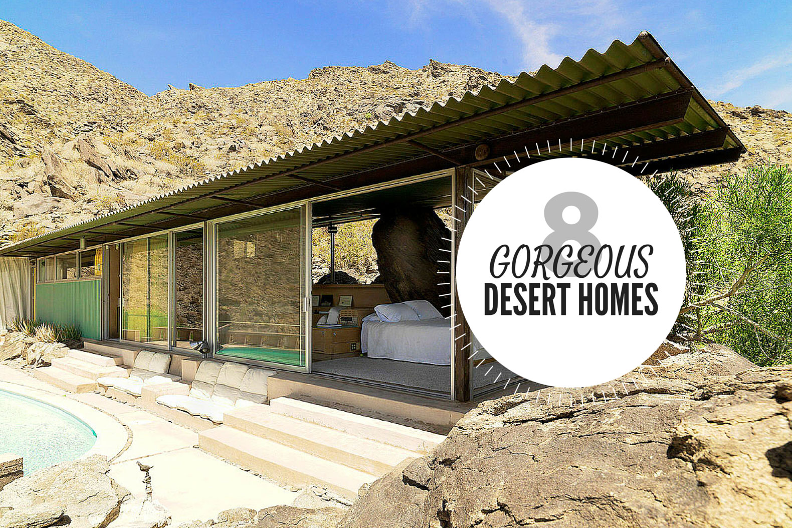 8 gorgeous eco friendly homes designed for the desert for Eco house builders