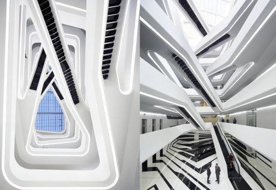 Dominion Tower, Dominion Office Building, Dominion Building by Zaha Hadid, Zaha Hadid, Zaha Hadid Architects, neo futuristic, office building, office architecture, Moscow, Russia, Zaha Hadid Moscow