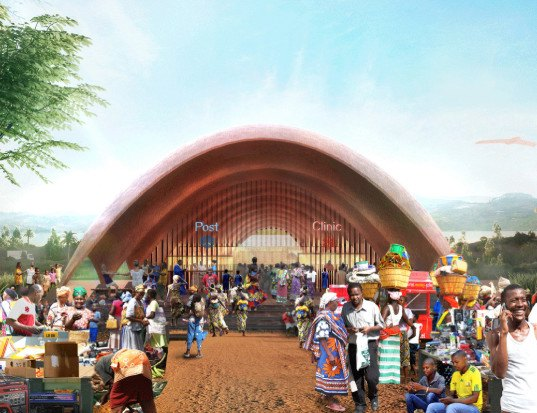 drones, Droneport, Droneport by Foster + Partners, Lord Foster, Foster + Partners, Rwanda, East Africa, aid, medical supplies, drone deliver medical supplies, Blueline, Redline, Afrotech, unmanned flying vehicles, drone aid, drone saving lives