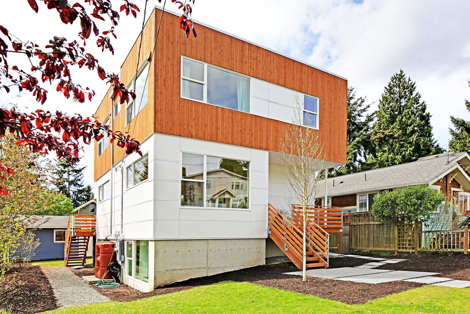 Merveilleux This Stunning Passive Home In Seattle Is 51% More Energy Efficient Than Its  Neighbors Greenfab