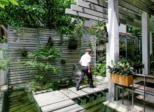 Studio 102, Hanoi, Vietnam, green renovation, living space, workspace, energy consumption, natural ventilation, reclaimed materials, natural lighting